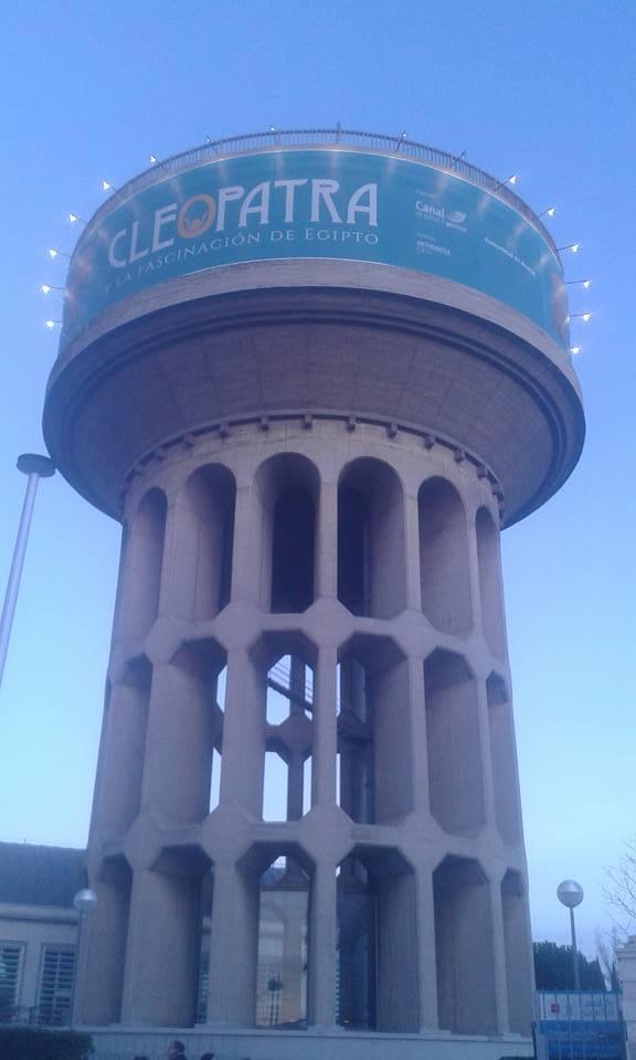 torre arte canal exposición cleopatra