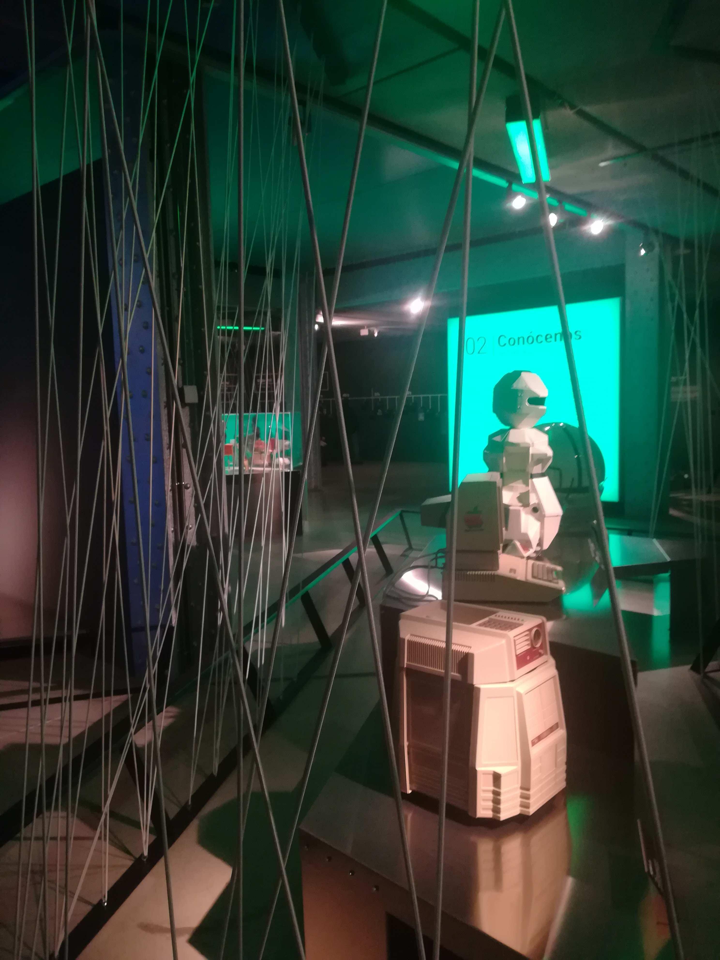 robots sala telefonica