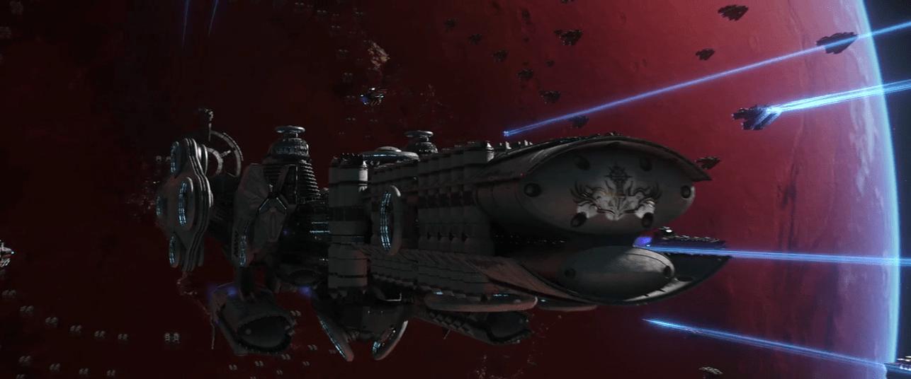 La nave Oceanus de la Coalición Gaia